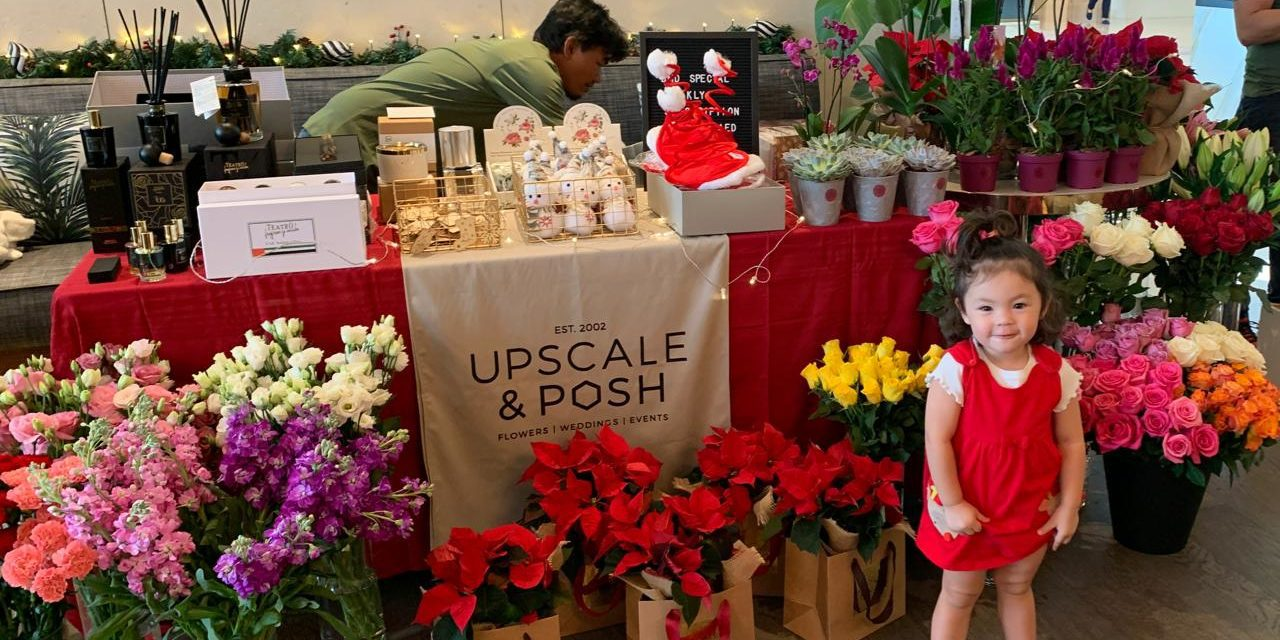 BRITISH MUMS DISCOUNT ON FLOWERS FROM UPSCALE & POSH