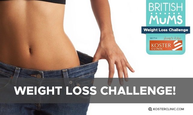 BRITISH MUMS WEIGHT LOSS CHALLENGE WITH KOSTER CLINIC