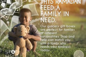 FEED A FAMILY IN NEED THIS RAMADAN