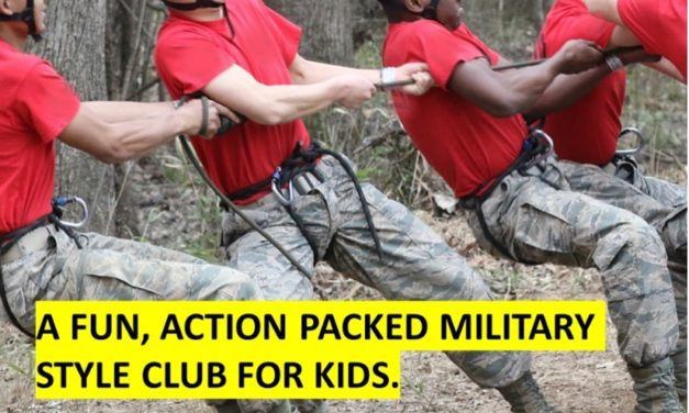 EXCITING NEW CADET FORCE OPERATED BY EX-BRITISH SOLDIERS AND OFFICERS PROVIDES NEW ADVENTURES FOR YOUR 10-16 YEAR OLDS!