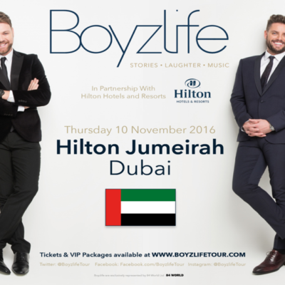 WIN VIP TICKETS TO SEE BOYZLIFE IN CONCERT AND TO PERSONALLY MEET THE BOYZLIFE BOYS! WE'VE GOT 8 TO GIVE AWAY!