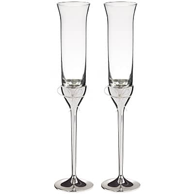 67494d52cc47 VERA WANG LOVE KNOTS TOASTING FLUTES - British Mums